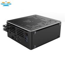 Partaker B18 Intel Xeon E-2176M E-2186M Desktop 6 Core 12 Thread fan Mini PC Windows 10 Pro HDMI mini DP WiFi BT gaming computer