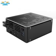 Partaker Xeon E2176M E2186M E2276M E2286M i9 Mini PC 2 Lan Windows 10 2*DDR4 2*M.2 NVME AC WiFi Gaming Desktop Computer 4K DP HD