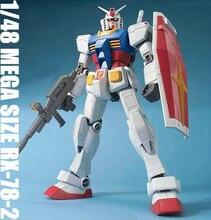 Daban gundam 1/48 mega tamanho RX-78-2 shizuoka tamanho grande 37.5cm modelos kits modelo de plástico + adesivos