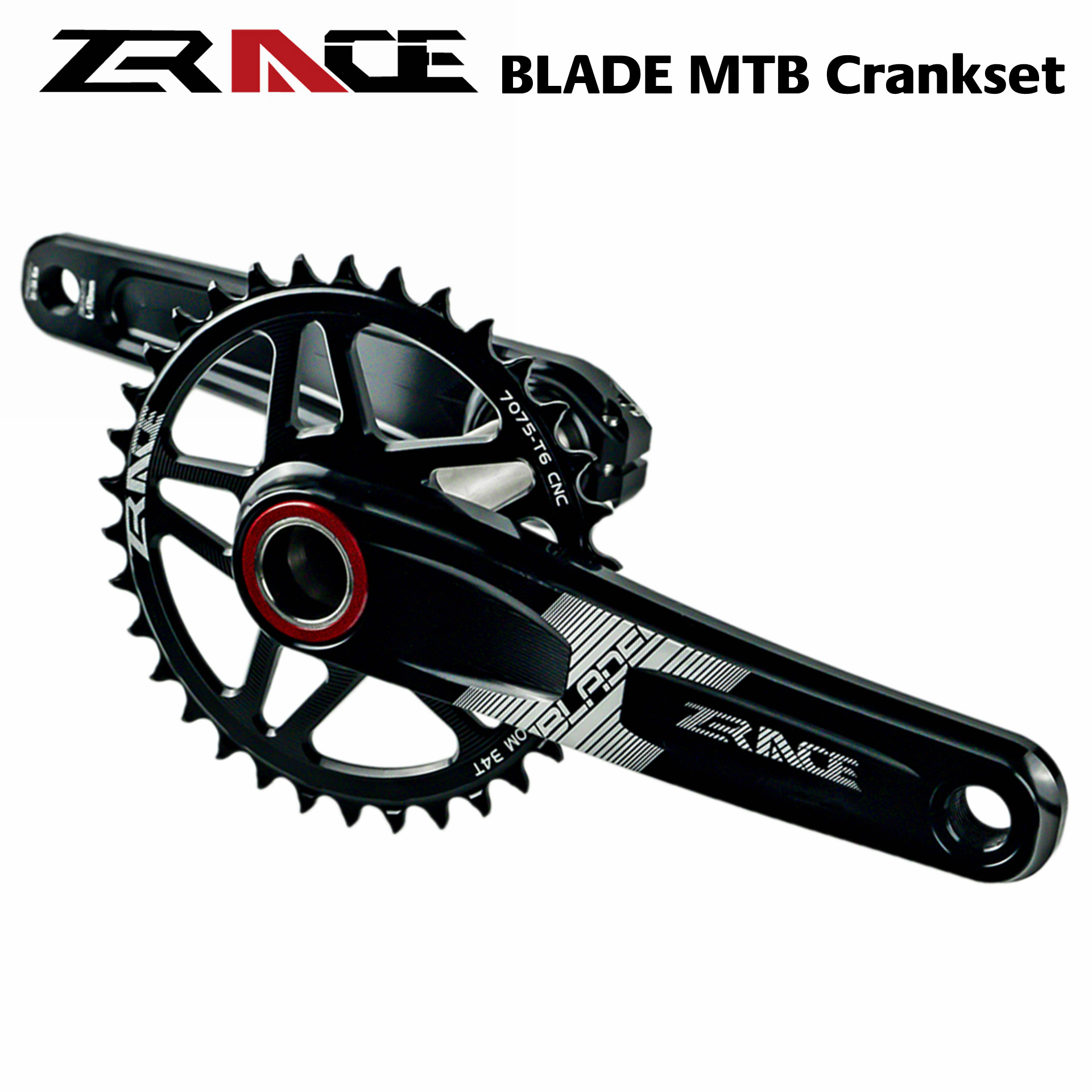 ZRACE HARDROCK BB68/73 1 x 10 11 12S Chain Crankset 170mm / 175mm 32T / 34T Chainset for SRAM EAGLE for Mountain Bicycles image