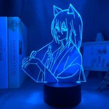 Аниме светодиодный светильник камисама Кисс Томоэ рисунок для Украшения в спальню Ночной светильник подарок на день рождения 3d лампа манга...