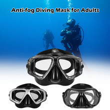 Adults Free diving Mask Snorkel Set Anti-fog Diving Snorkeling Goggles Set Scuba Swimming Mask Swimming Pool Snorkel Tube(China)
