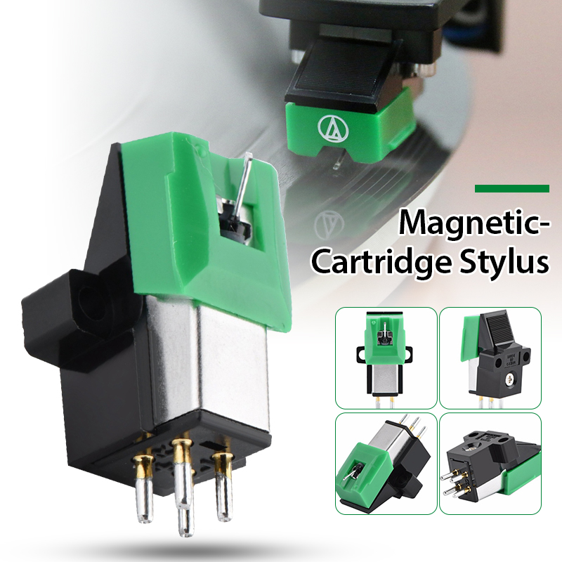 AT3600L AT95E Magnetic Cartridge Stylus With LP Vinyl Record Needle For Phonograph Turntable Gramophone Record Stylus Needle