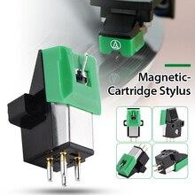 AT3600L AT95E מגנטי מחסנית Stylus עם LP ויניל שיא מחט עבור פטיפון פטיפון גרמופון שיא Stylus מחט