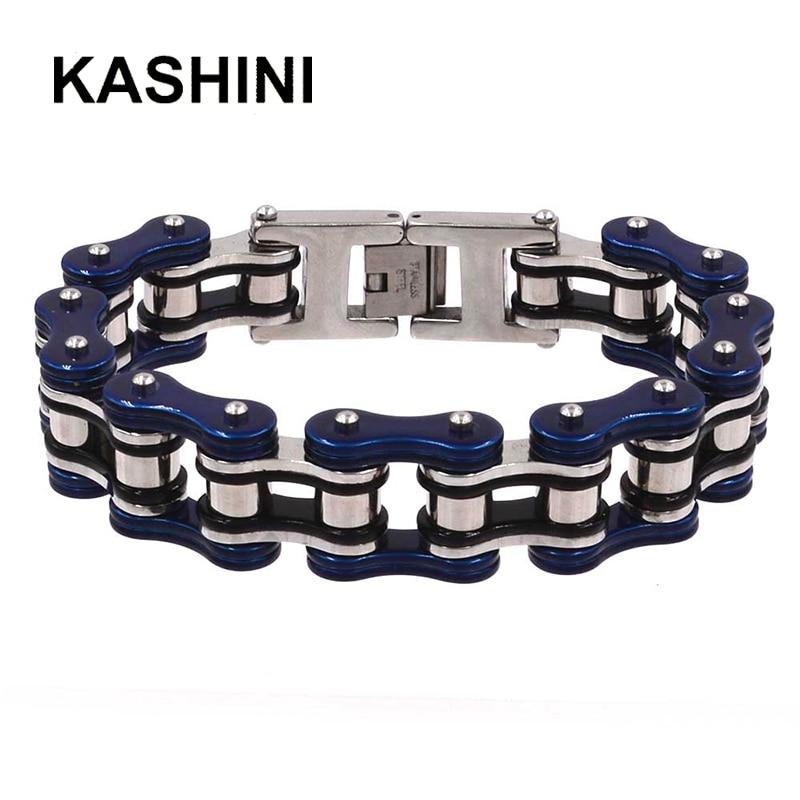 316L Stainless Steel Bracelet Best Selling Punk Bracelets Bicycle Chain 16mm Largeu Moto Chain Bracelet Men's Gift Wholesale
