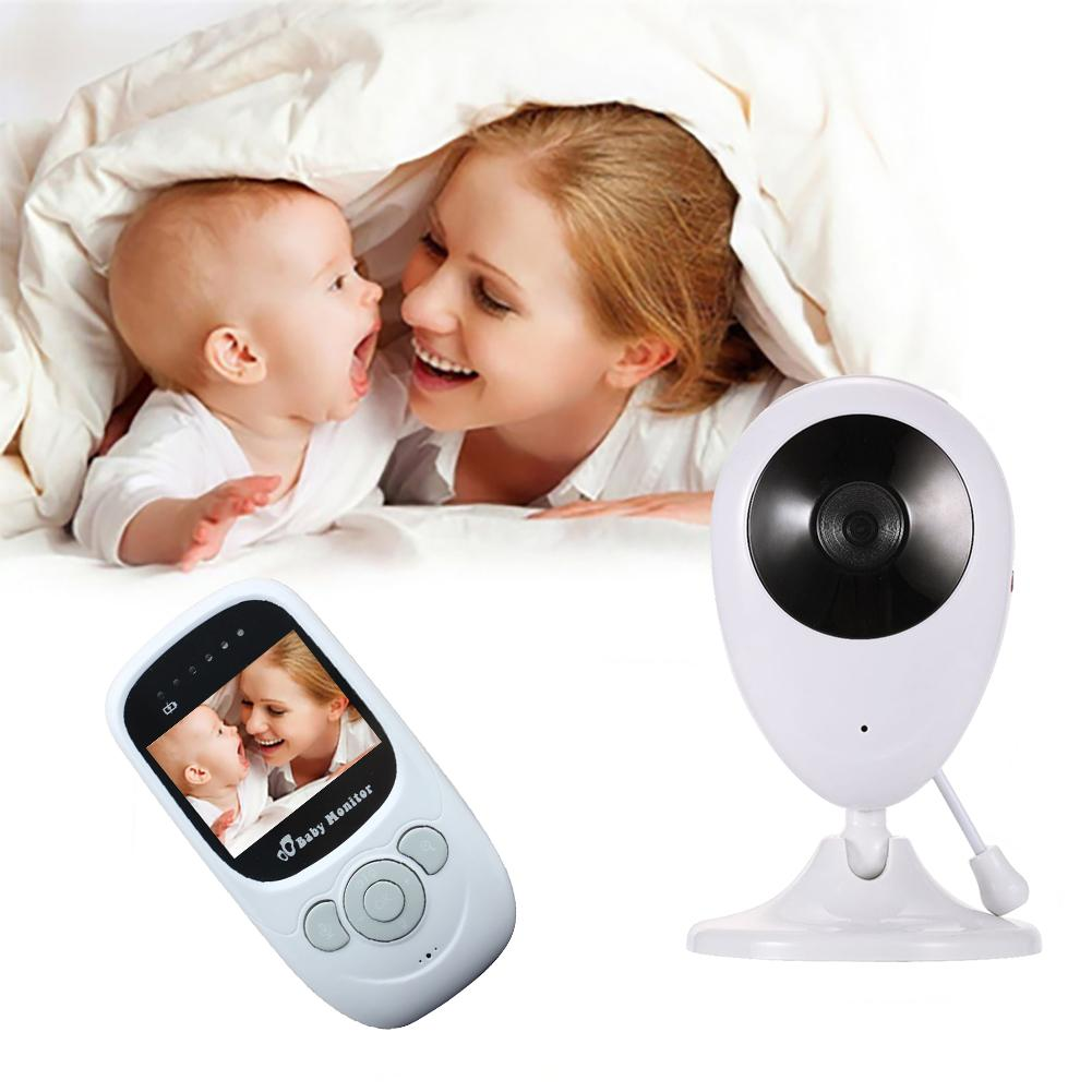 2.4G Wireless Video Color Baby Monitor High Resolution Baby Nanny Security Camera Night Vision Temperature Monitoring
