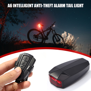 Smart COB LED Bicycle Tailligh