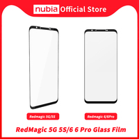 Nubia – Film en verre trempé RedMagic 5G/5s, protecteur d'écran pour RedMagic 6 & 6 Pro, 100% Original