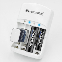 Горячая продажа 4 слота зарядное устройство для 1,2 В AA AAA 6F22 9 в Li Ion Ni MH NI CD аккумуляторы высокое качество EU/US Plug