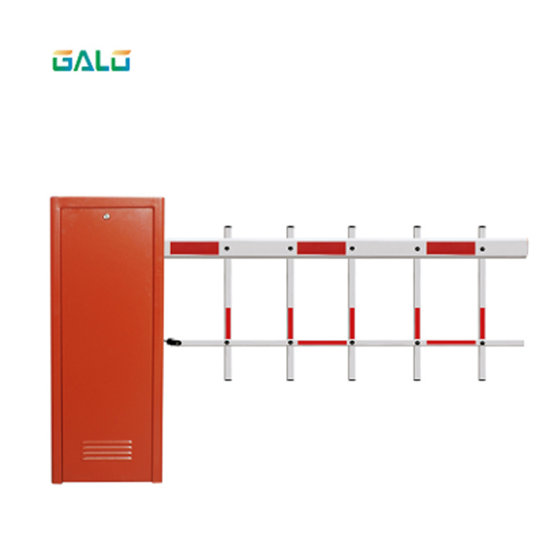 Aluminium House Automatic Boom Barrier Gate With Control Board  Car Parking And Toll Access Control Automatic Articulated DC Par