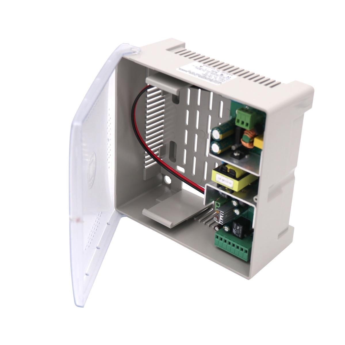 12V 3A Dual Output Power Supply  With Backup UPS 13.8V DC For Battery(7AH) Charging 12V For CCTV Cameras
