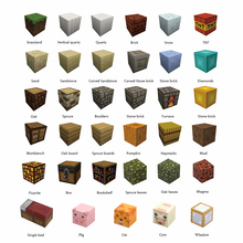 купить 10PCS Single Grain Minecrafted Magnetic Building Blocks Models Bricks Hand Paste Compatible With Lego DIY Brain Toy Authorized по цене 123.1 рублей