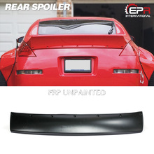RB Style Rear Spoiler For Nissan 350Z Glass Fiber FRP Tunk Wing Lip Body Kit Car Styling Auto Tuning Trim Part