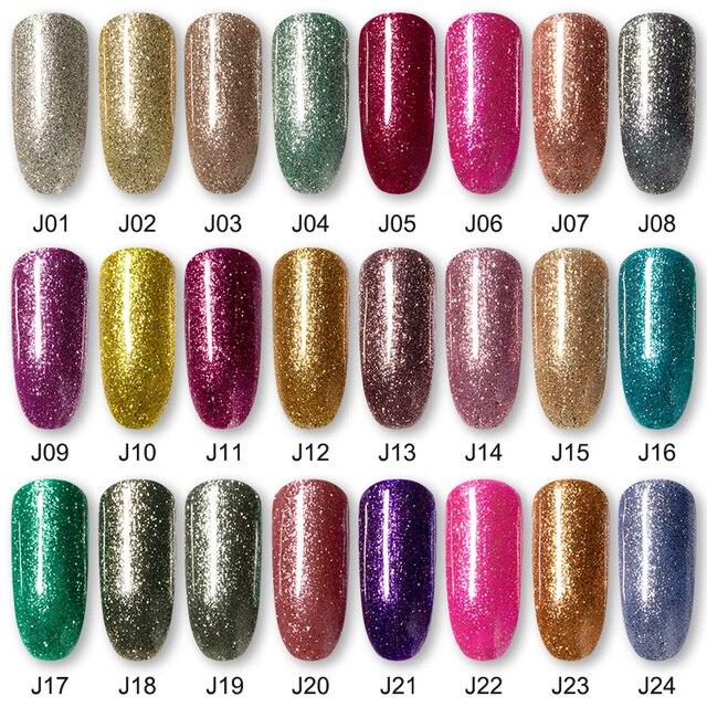 ROSALIND Gel Nail Polish7ML Varnishes Hybrid Semi Permanent Nail Polish Soak Off UV Gel for Nail Art Beauty Gel Lacquer