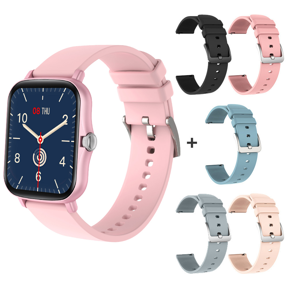 Pink with 5 straps