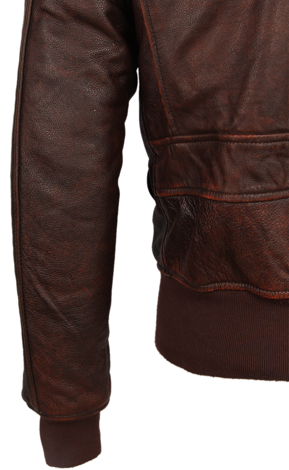 He7d0614426a44b388c285a6e79706a4fU Vintage Distressed Men Leather Jacket Quilted Fur Collar 100% Calfskin Flight Jacket Men's Leather Jacket Man Winter Coat M253