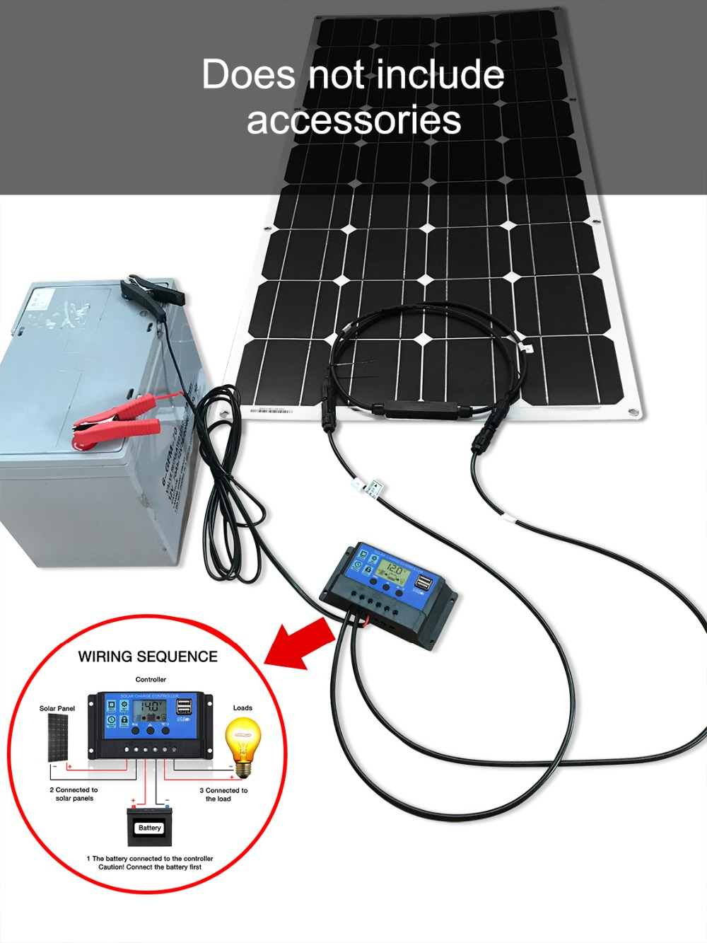 Image 5 - Dokio 12V 100W Monocrystalline Flexible Solar Panel For Car/Boat High Quality Flexible Panel Solar 100w China-in Solar Cells from Consumer Electronics