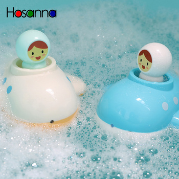 Baby Bath Toys Wind Up Submarine Spray Toddler Bathtub Swimming Pool Toys For Kids Water Play Gift Educational Toys for Children image