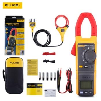 Amperímetro multímetro Fluke-Medidor de abrazadera iFlex 381, dispositivo con pantalla remota, True-rms 1