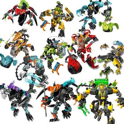 Hero Factory 6.0 Breez EVO XL Machine DECOOL Hero6 Fit Robots Building Blocks Bricks Toys For Children Gifts 44022