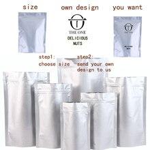 1Pcs Gift bags of high quality aluminum foil bag coffee bean zipper heat sealing retail custom logo printing