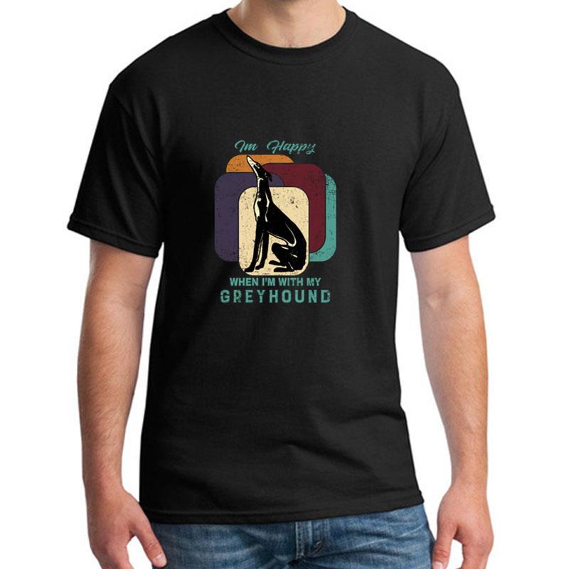 >Design Greyhound tee shirt big size s~5xL cool Anti-Wrinkle streetwear <font><b>mens</b></font> <font><b>tshirts</b></font> <font><b>Crew</b></font> Neck HipHop Tops
