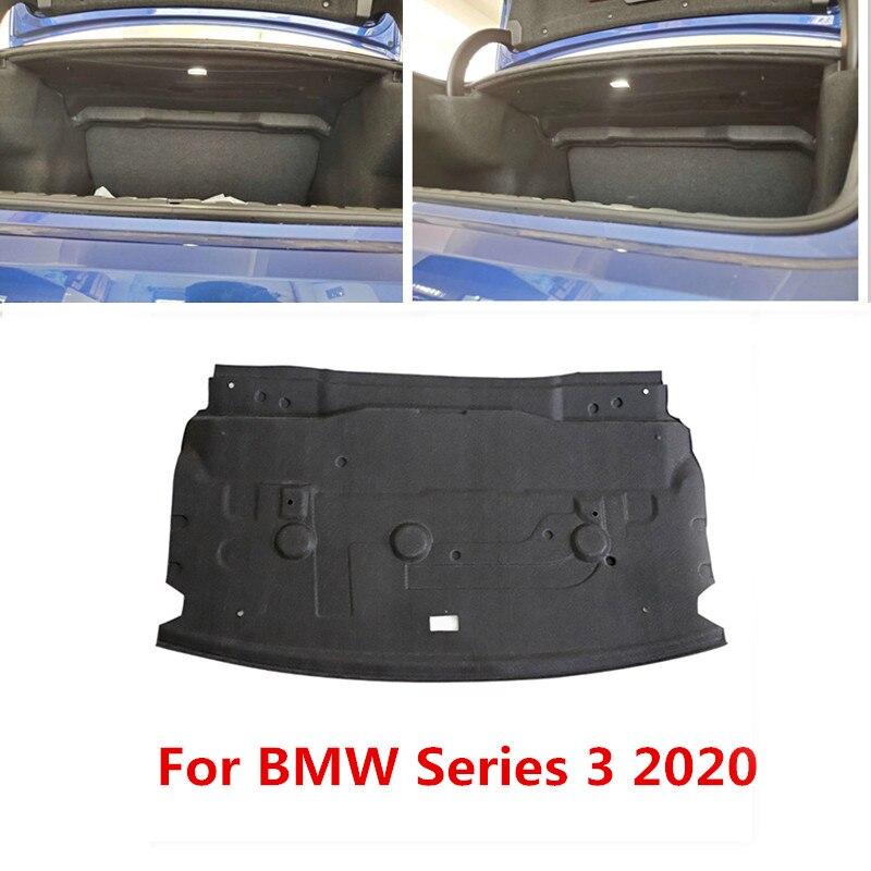 Pour BMW série 3 2020 coffre isolation thermique acoustique coton coffre de voiture pare-feu tapis couverture antichoc insonorisation amortissement