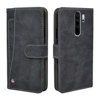 Nuevo negocio Flip funda de piel para Xiaomi Redmi Nota 10 9 8 9T 8T 7 6 5 4 4X 3 7A 8A 5A 9A 9C Pro caso cartera cubierta