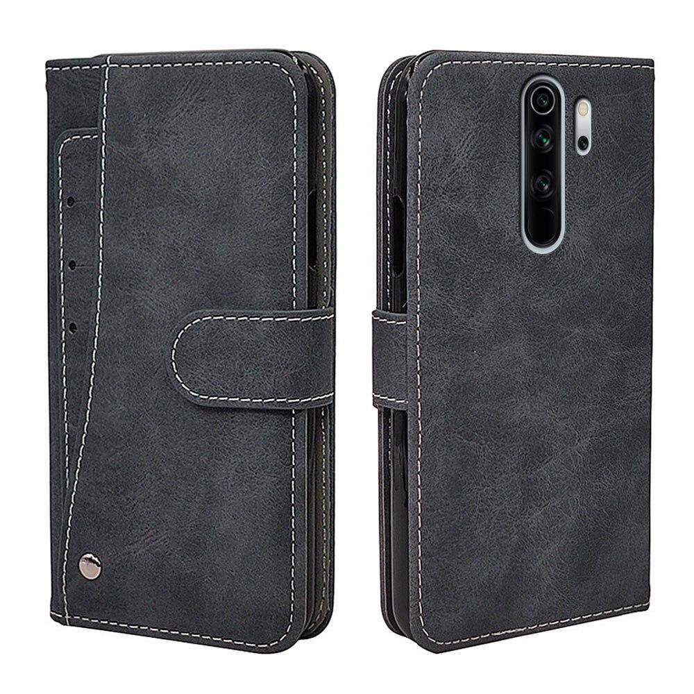 Новый деловой кожаный чехол-книжка для Xiaomi Redmi Note 9 8 8T 7 6 5 4 4X 3 7A 8A 5A 9A 9C Pro, Винтажный чехол-бумажник, чехол для телефона