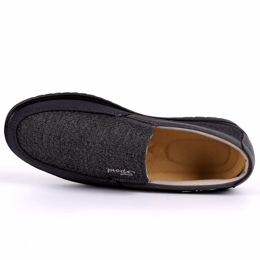 2018 New Arrival Spring Summer Comfortable Casual Shoes Mens Canvas Shoes For Men Comfort Shoes Brand Fashion Flat Loafers Shoe 5