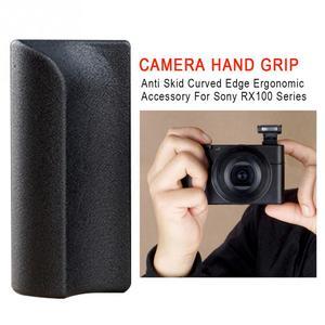 Image 4 - אנטי החלקה אבזר ארגונומי סיליקון מעוקל קצה עמיד מצלמה יד אחיזה מקצועי דבק עבור Sony RX100 סדרה