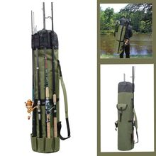 Fishing Rod Gear Storage Bag Multi-function Bracket