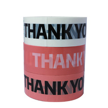4.5cm x 100M Thank You Tape OPP Adhesive Tape Logistics Express Box Packaging Tapes Business Supplies Gift Package Tape