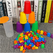 Toys Toy-Game Sorting Educational-Toy Math Hands-Brain-Training Early-Learning Baby Bear-Color