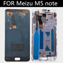 High-quality! FOR Meizu meilan note 5 M5 note LCD Display+touch Screen with frame Digitizer Assembly Replacement Accessories цена и фото