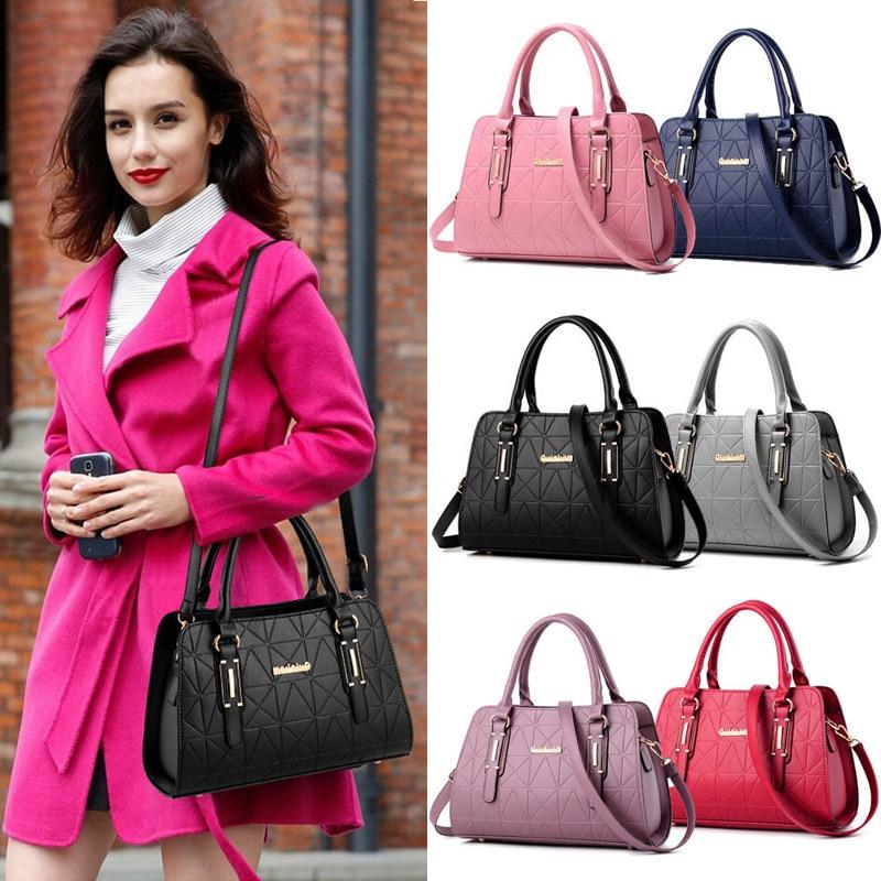 Large Fashion Women Designer Bag  Handbag Ladies PU Leather Tote Shoulder Bags Zipper Bag /BY