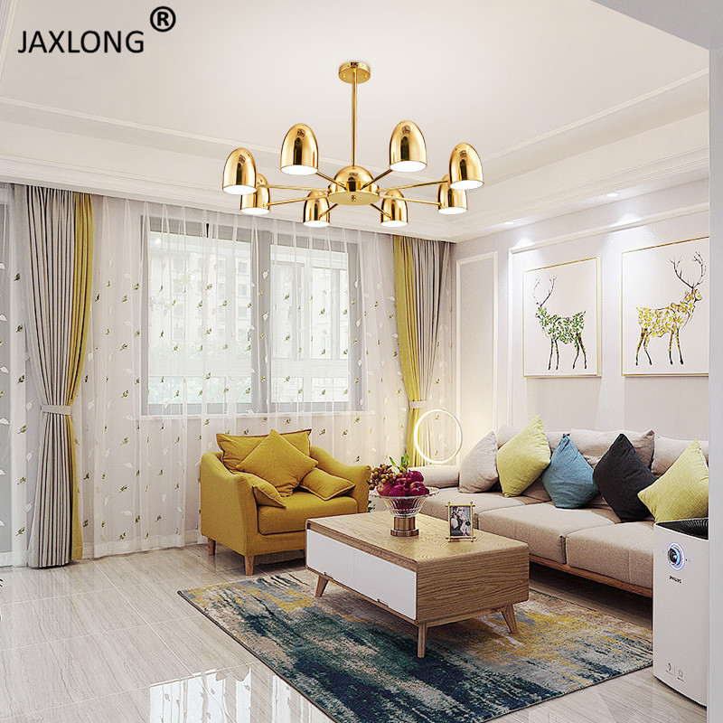 Modern LED Lighting Hanglamp Hotel Lobby Luxury Decoration Pendant Lamp Living Room Bedroom Creative Design Pendant Light Lustre