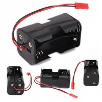 AA 02070 Battery Holder Case Compartment Receiver Part for 1/8 1/10 RC HSP Car Accessories Used for storing AA batteries