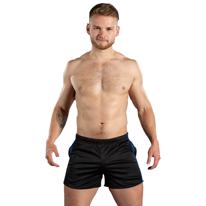 2019 Mens Breathable Fitness Shorts Sweatpants Fashion Bodybuilding Workout Joggers Quick Drying Mens Shorts Brand Clothing