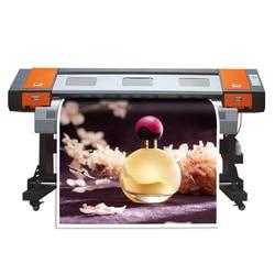 Drukarka wielkoformatowa jedna głowica drukująca xp600 cena hurtowa darmowa wysyłka 1600mm drukarka sublimacyjna