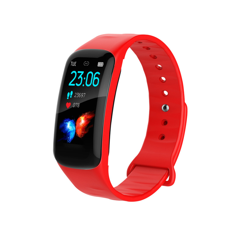 Bracelet 1.14 Inch Large Screen OLED Heart Rate And Blood Pressure Monitoring IP67 Cross Border Hot Sale Step Watch