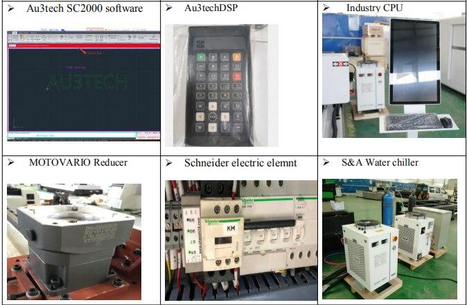 500W Industry Laser Equipment Aluminium/Copper For Steel Metal Sheet
