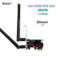 Network-Card Dual-Band Adapter PCIE Bluetooth 3000mbps Wifi Intel Ax200 6 Wireless