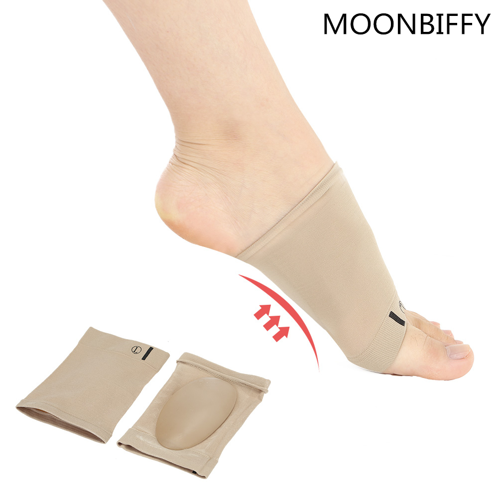 New 1Pair Arches Footful Orthotic Arch Support Foot Brace Flat Feet Relieve Pain Comfortable Shoes Orthotic Insoles High Quality