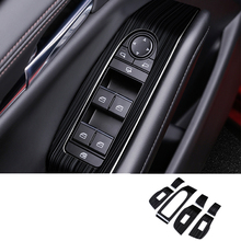 For Mazda CX-30 2020 2021 Stainless steel Door Window glass Lift Control Switch Panel Cover Trim Car Styling  Accessories 7pcs stainless steel for mazda cx 5 cx5 2017 2018 door window glass lift control switch panel cover trim car styling accessories 4pcs