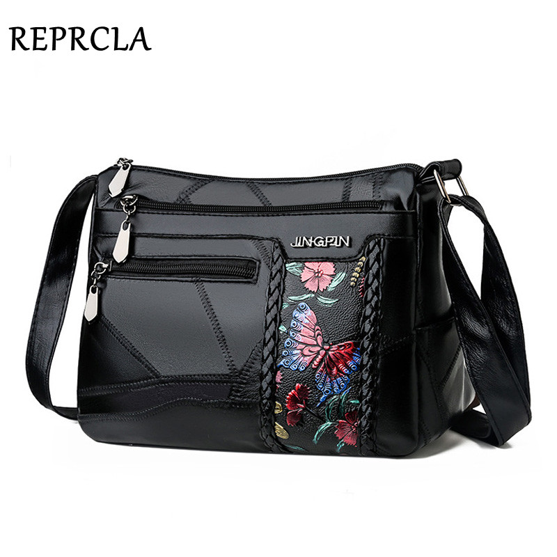 New Casual Women Shoulder Bag High Quality Leather Handbag Crossbody Bags For Women Messenger Bags Designer Ladies Hand Bag