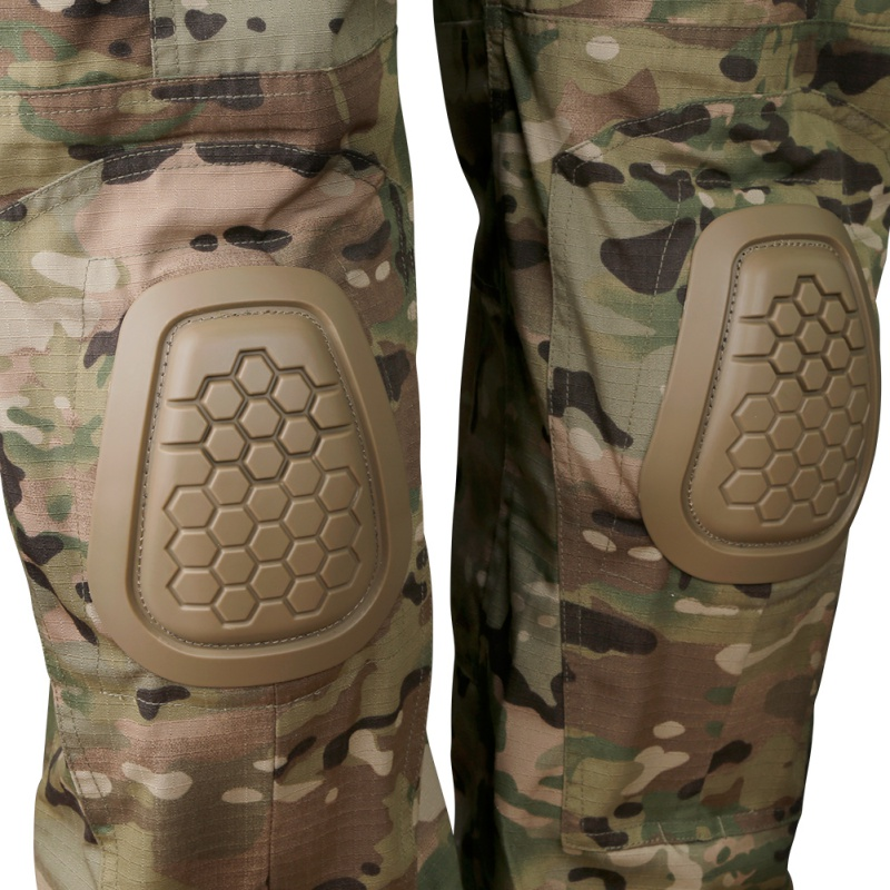 4 Pcs/set Hunting Protective Gear Knee Pads Elbow Pads Paintball Skate Scooter Kneepads Sports Safety Guard