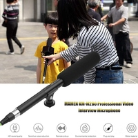 MAMEN KM M280 Video Interview Dual Powered Super Directional Condenser Microphone XLR Connector for DSLR Camera