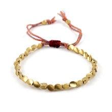 Эстетический ручной браслет ювелирные изделия медные бусины