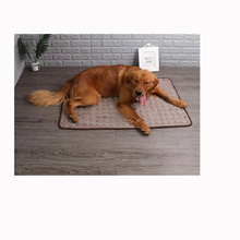 Cat and dog cooling pad summer dog pad breathable blanket cat ice pad washable sofa breathable pad